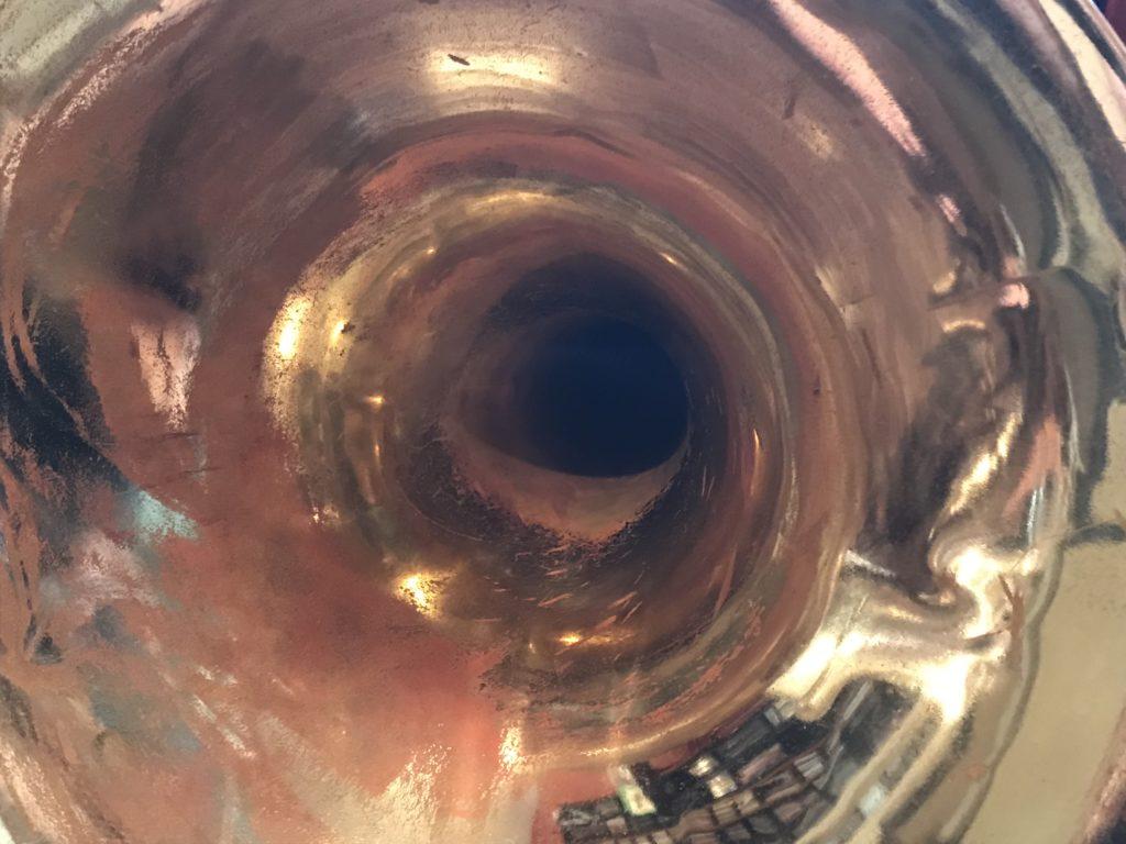 Inside horn bell