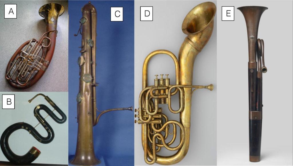 Predecessors to the tuba