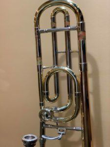 Trombone F attachment